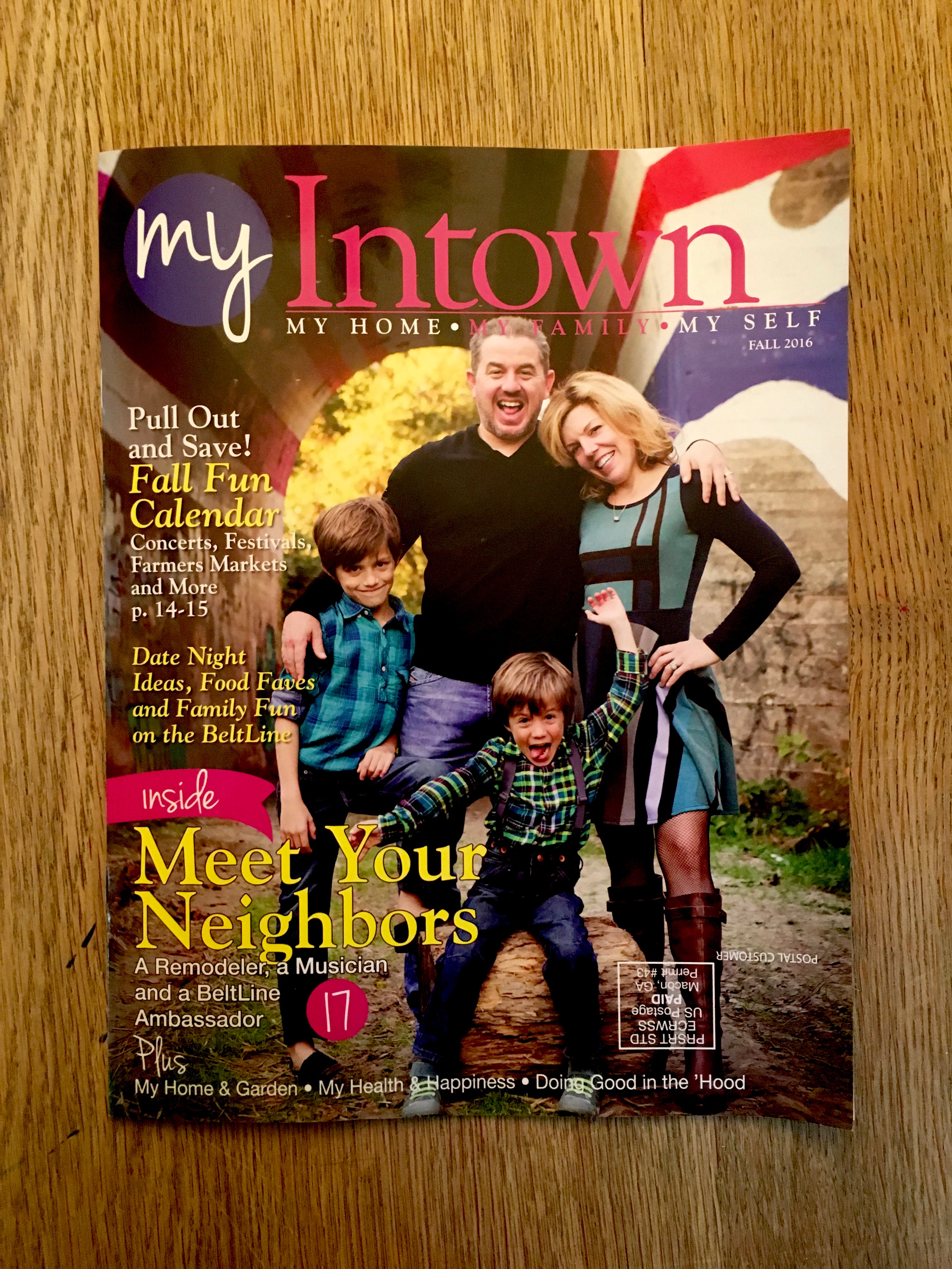 Tadpole Studios featured in the inaugural issue of My Intown ATL
